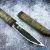 Beautiful knife with forged laminated steel blade, 100% handmade - # 15 (made in Russia)