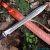 Custom Handmade Damascus Sword-30 Damascus steel sword - Image 2