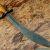 Custom handmade damascus knives - Damascus steel hunting knife