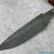 Beautiful blade for a knife made of Bulat, 100% handmade - # 222