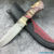 Beautiful knife with forged high-speed steel blade, 100% handmade - # 35 (made in Russia)