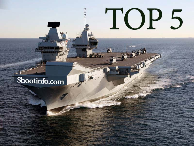 TOP 5 most expensive Aircraft Carriers in the World