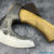 Beautiful forged axe from a piece of steel, 100% handmade - # 10 (made in Russia)