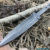 Beautiful blade for knife made of forged steel, 100% handmade - # 34 (Production in Russia)