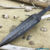 Beautiful blade for a knife made of laminated Damascus, 100% handmade - # 27 (produced in Russia)