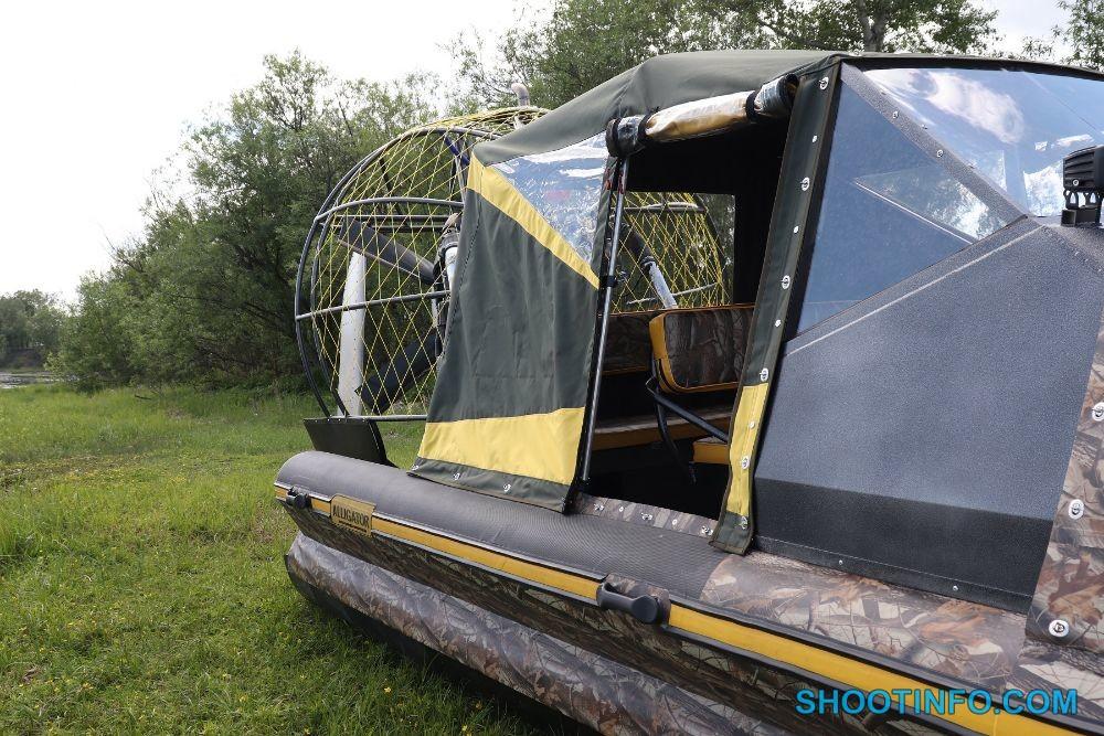 Аэролодка ALLIGATOR 650-6