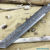 Beautiful blade for a knife made of laminated Damascus, 100% handmade - # 86 (produced in Russia)