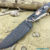 Beautiful blade for a knife made of laminated Damascus, 100% handmade - # 124 (produced in Russia)