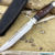 Beautiful knife with forged stainless steel blade, 100% handmade - # 72 (made in Russia)