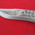 NEW CUSTOM HAND MADE D2 STEEL ENGRAVED HUNTING KNIFE - Image 1