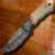 NEW CUSTOM HAND MADE DAMASCUS HUNTING KNIFE.