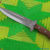 NEW CUSTOM HAND MADE D2 STEEL ENGRAVED HUNTING KNIFE