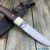 Beautiful knife with forged high-speed steel blade, 100% handmade - # 99 (made in Russia)
