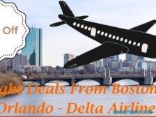 Flight Deals From Boston to Orlando - Delta Airlines (1)