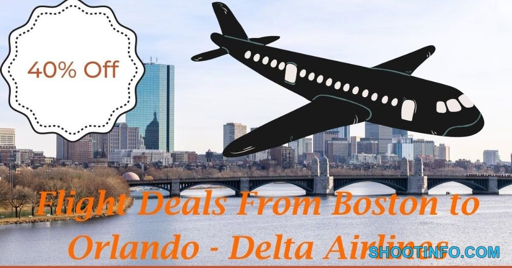 Flight Deals From Boston to Orlando - Delta Airlines (1)