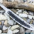 Beautiful forged steel knife blade, 100% handmade - # 220 (Produced in Russia)