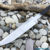 Beautiful forged steel knife blade, 100% handmade - # 244 (Produced in Russia)