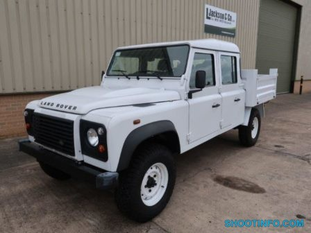 Land Rover Defender 130 LHD Double Cab Pickup