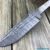 Beautiful blade for a knife made of Damascus, 100% handmade - # 273 (produced in Russia)