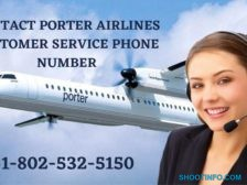 contact porter airlines customer service phone number