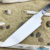 Beautiful forged steel knife blade, 100% handmade - # 302 (Produced in Russia)
