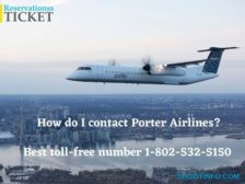 How do I contact Porter Airlines_