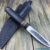 Beautiful knife with forged tool steel blade, 100% handmade - # 157 (made in Russia)