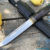 Beautiful knife with forged tool steel blade, 100% handmade - # 179 (made in Russia)