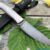 Beautiful knife with a forged blade made of laminated steel, 100% handmade - # 180 (made in Russia)