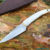 Beautiful knife with forged tool steel blade, 100% handmade - # 200 (made in Russia)