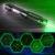 5 En 1 10000mw Pointeur Laser Vert Puissant 520nm Brûlant