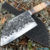 Beautiful knife with forged tool steel blade, 100% handmade - # 201 (made in Russia)